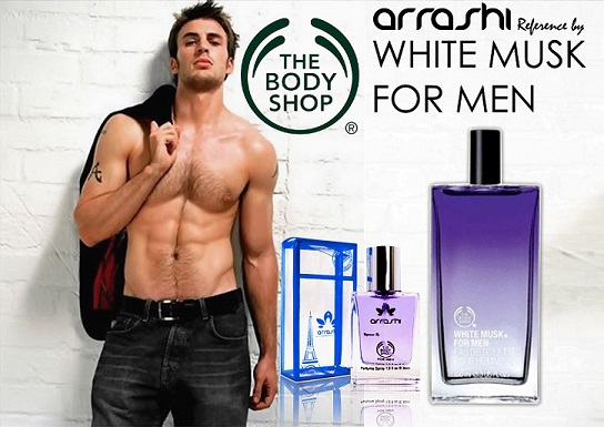 Arrashi by the body shop men
